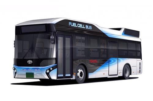 اتوبوس سلول سوختی تویوتا سال آینده معرفی میشود